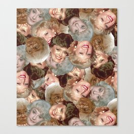 Golden Girls Toss Canvas Print