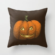 2016 Halloween Pumpkin Throw Pillow