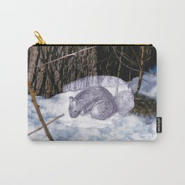 Lovely Squirrel in Montreal Carry-All Pouch