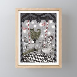 A is for Alice Framed Mini Art Print