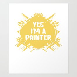 I Can'T Fix Stupid Arts Painter Painting Master Visual School Art Print
