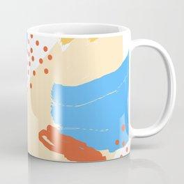 Yellow Abstraction Coffee Mug