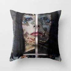 BLOODYMARY Throw Pillow