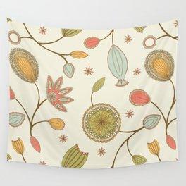 Mehndi Flower Wall Tapestry