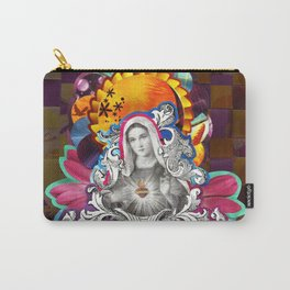 Imaculado Coração de Maria (Immaculate Heart)  Carry-All Pouch
