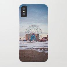 Coney Island iPhone X Slim Case