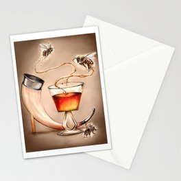Honey Mead Bees Stationery Cards