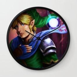 Hyrule Warriors Link Wall Clock