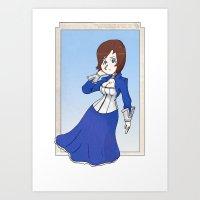 bioshock Art Prints featuring Bioshock by Demonology7789