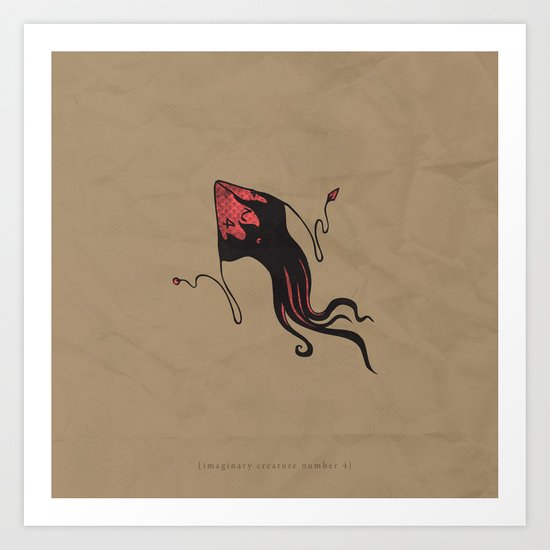 d4 Art Print