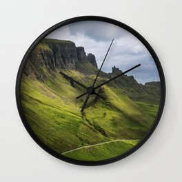 Mesmerized by the Quiraing Wall Clock