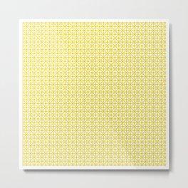 U15: atomic yellow B Metal Print