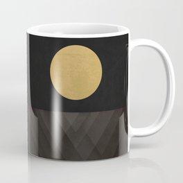 Moon Reflection on Quiet Ocean Coffee Mug