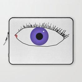 Eye doodle Laptop Sleeve
