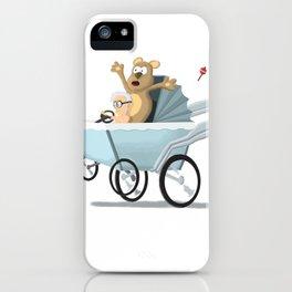 Racing Baby iPhone Case