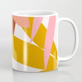 graphic leaves I Coffee Mug