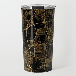 Beirut map, Lebanon Travel Mug