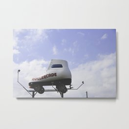 The Rollercade Metal Print