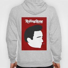 Johnny Cash, Minimalist Rolling Stone Magazine Cover Hoody