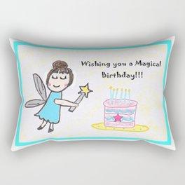 Magical Birthday Rectangular Pillow