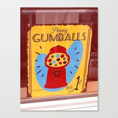 Penny Gumballs Canvas Print