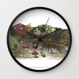 Little Worlds: The Harvest Wall Clock