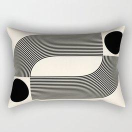 Abstraction_SUN_INFINITY_LINE_POP_ART_Minimalism_066A Rectangular Pillow