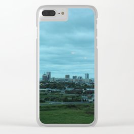 Cloudy day in the City Clear iPhone Case