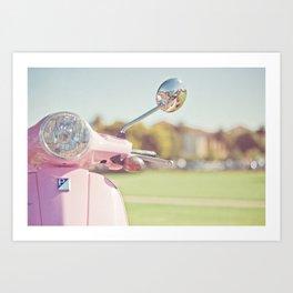 Cuter Scooter Art Print