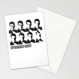 Samuel Beckett-En attendant Godot-Waiting for Godot Stationery Cards