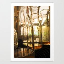 Looking Through the Glass Art Print