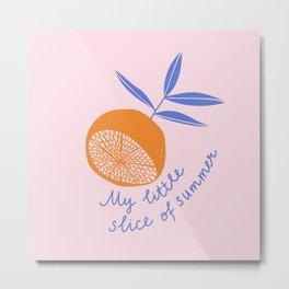 Sweet citrus Metal Print