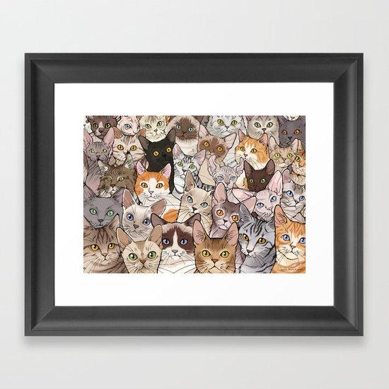 A lot of Cats by vernessahimmlerillustration
