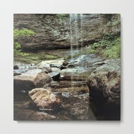 Canyon in the Clouds Metal Print