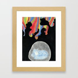 The Safe Place Framed Art Print