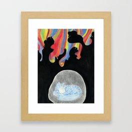 The Safe Place Framed Art Print