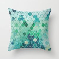 chemistry Throw Pillows featuring Chemistry by Esco