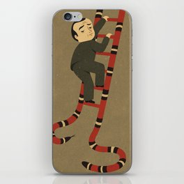 snakes and ladder iPhone Skin