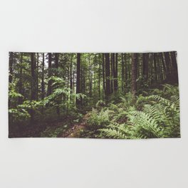 Woodland - Landscape and Nature Photography Beach Towel