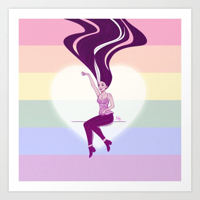 Pride Love Art Print