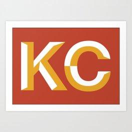 Kansas City  Logo Art Print