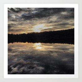 Cascade Lake Art Print