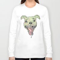 the hound Long Sleeve T-shirts featuring City Hound by Neojunkie