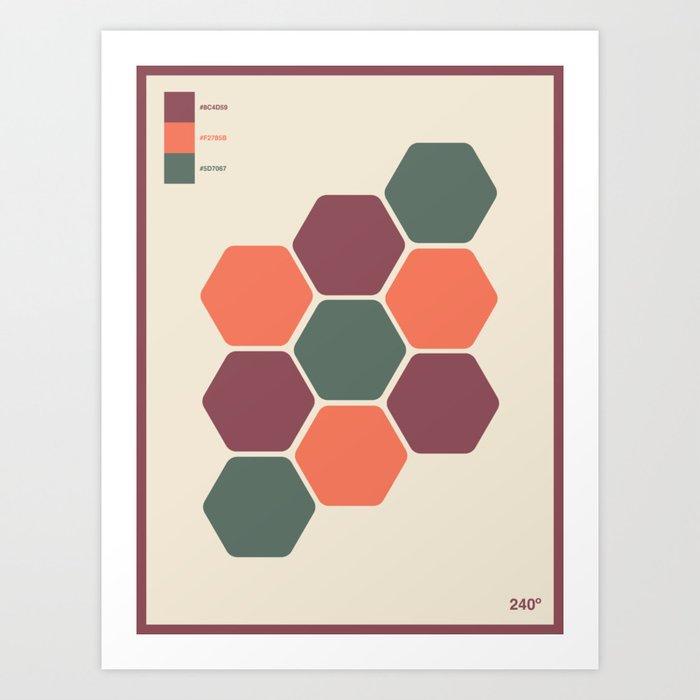 240Degrees Art Print