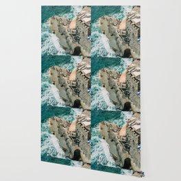 "Travel photography print ""Rocky Beach"" photo art made in Italy. Art Print Wallpaper"