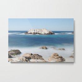 Seal Rock - Pebble Beach Metal Print