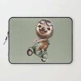 RUNAWAY SLOTH Laptop Sleeve