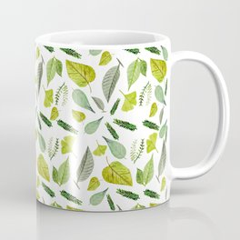 Leafs I Love Coffee Mug