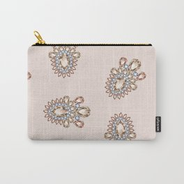 Jewelbox: Morganite Brooch in Light Blush Carry-All Pouch