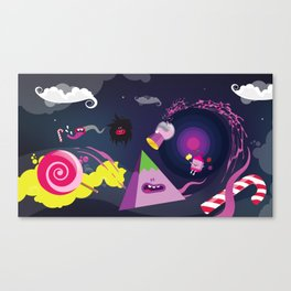 CandyParty Canvas Print
